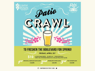Camp Bowie District Patio Crawl