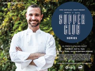Chef Shawn Cirkiel for TRIBEZA supper club at Olive & June