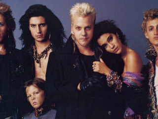 actors from The Lost Boys with Kiefer Sutherland