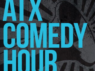 logo for ATX Comedy Hour presented by the New Movement