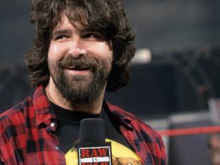 pro wrestler Mick Foley