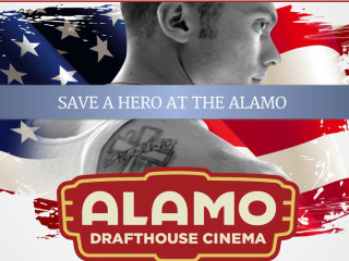 poster for Wysh Project screening of Frozen in War at Alamo Drafthouse