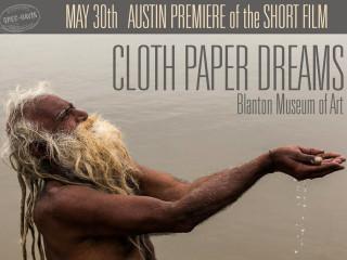 poster for Greg Davis film Cloth Paper Dreams premiere