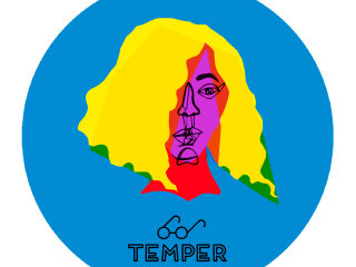 poster for Beyonce art show presented by TEMPER austin