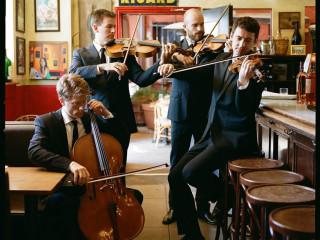 members of Calder String Quartet