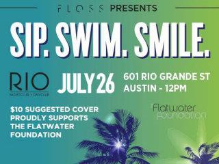 Floss Dental pool party at RIO