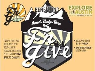 F'nGive workout benefit Dane's Body Shop