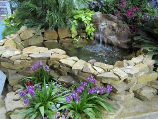 pond at Austin Home and Garden Show