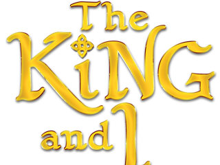 The King and I logo Zach theatre