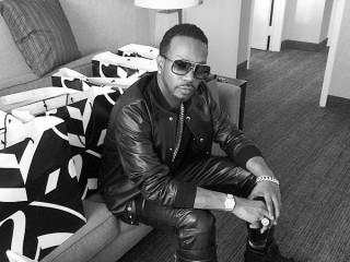 rapper Juicy J of Three 6 Mafia