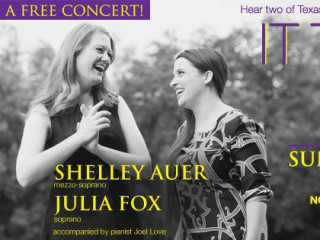 It Takes Two duet concert with Shelley Auer and Julia Fox