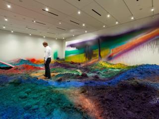 Katharina Grosse at Nasher Sculpture Center