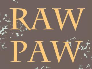 Raw Paw zine logo