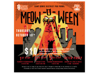 Meow-o-Ween Pub Crawl