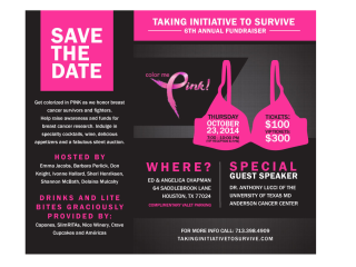"""Color Me Pink"" Breast Cancer Fundraiser"