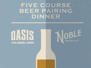 Noble Sandwich Oasis Dinner
