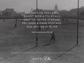 Hotel Ella Tailgate Series poster 2014