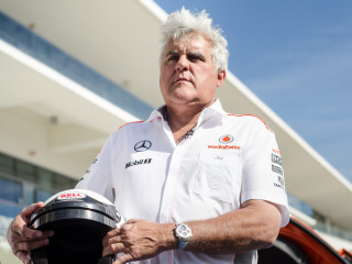 Jay Leno at COTA in Austin 2678