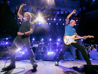 Roger Daltrey and Pete Townshend from The Who