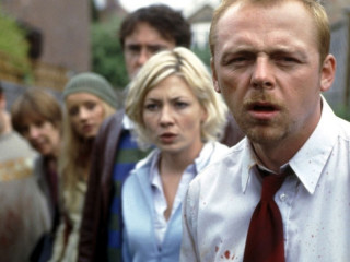 Shaun of the Dead Movie Simon Pegg