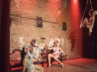 Prohibition Supperclub and Bar presents The Masque of the Red Death featuring the Moonlight Dolls