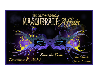 """Houston Area Women's Center Young Leaders hosts """"2014 Holiday Masquerade Affair"""""""