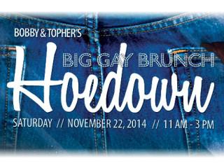 Big Gay Brunch Hoedown November 2014