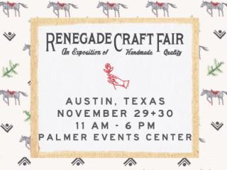 Renegade Craft Fair - November 2014