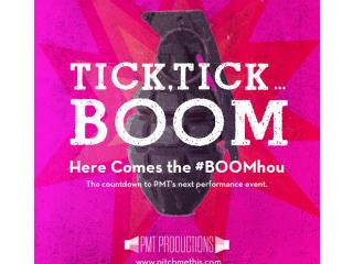 "PMT Productions presents Jonathan Larson's ""Tick, Tick...Boom"""
