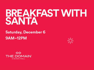 Breakfast with Santa at The Domain - December 2014
