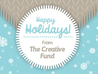 The Creative Fund Holiday Celebration poster CROPPED - December 2014