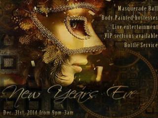 Vulcan Gas Company New Year's Eve Masquerade Ball 2014