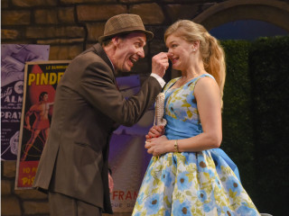 Chamblee Ferguson and Morgan Laure in Dallas Theater Center's The School for Wives