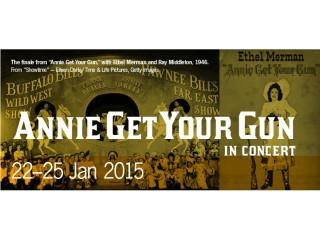 Lyric Stage presents Annie Get Your Gun