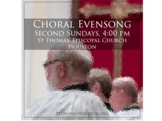 "St. Thomas' Episcopal Church presents ""Choral Evensong"""