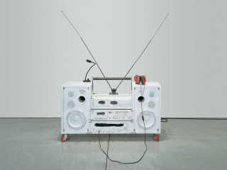 Model One_1999_Boombox Retrospective 1999–2015_Tom Sachs_The Contemporary Austin_2015