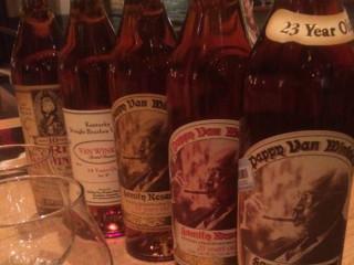 Old Rip Van Winkle Bourbon_Pappy_whiskey flight