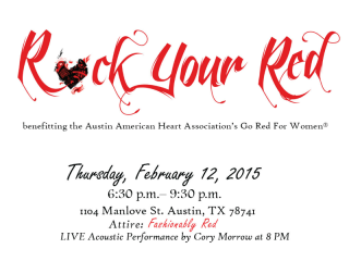 American Heart Association_Rock Your Red Benefit_February 2015