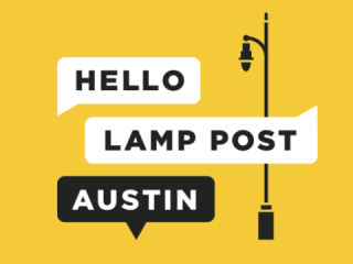 Hello Lamp Post Austin logo 2015