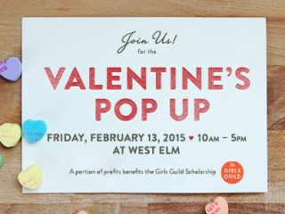 Coterie Market Valetine's Pop-up 2015