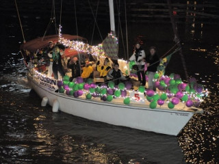 """16th Annual Yachty Gras """"Chance of the Sea"""""""