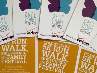 Houston Area Women's Center's 2015 Race Against Violence Pre-Race Party