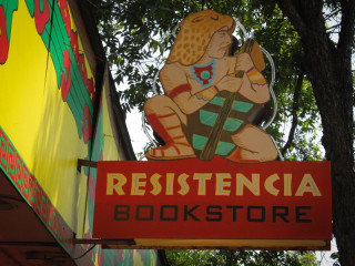 Austin Photo Set: News_gabino_resistencia bookstore_may 2012_2