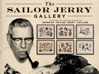 Sailor Jerry Gallery_Norman Collins collection_SXSW_March 2015