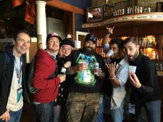 93.7 KLBJ-FM_DJs_fans_Live Broadcast_SXSW 2014