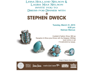 "Recipe For Success Foundation presents ""Dress For Dinner"" with Stephen Dweck"