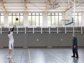 Nowitzki. The Perfect Shot