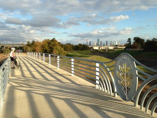 """Bridge Bash"" at White Oak Bayou"