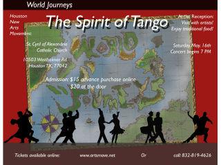Houston New Arts Movement presents Spirit of Tango