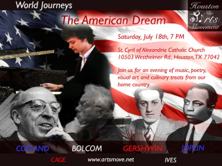 Houston New Arts Movement Presents World Journeys The American Dream